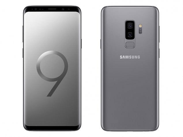 Samsung Galaxy S9+(smartphones)