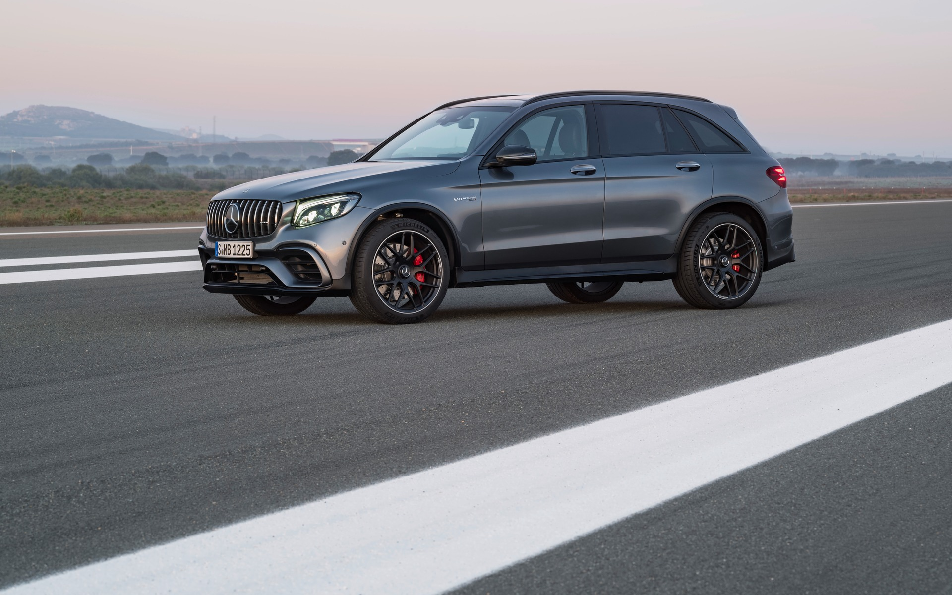 2018 Mercedes Benz GLC 63 S 4MATIC Small Family Rocket
