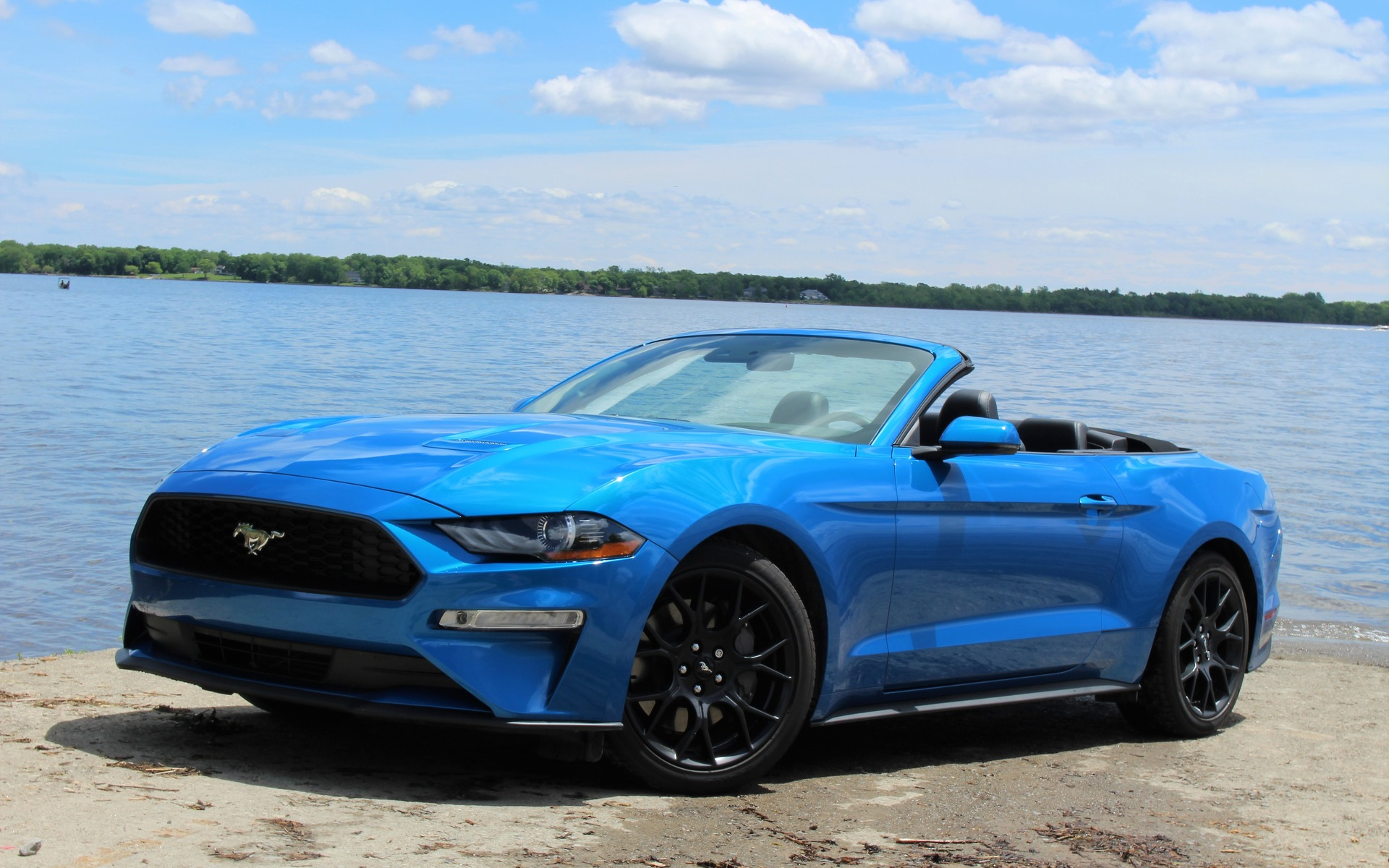2019 ford mustang ecoboost the sound