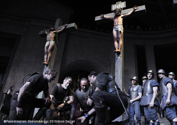 Crucifixion of Jesus Oberammergau