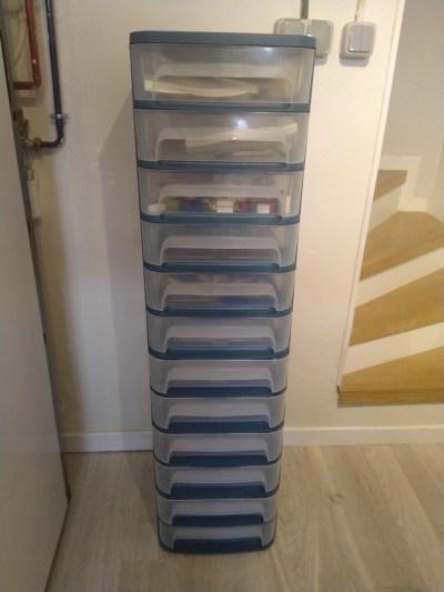 Tour tiroirs LEGO