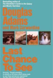 Last Chance to See Pdf Book