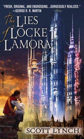 The Lies of Locke Lamora Cover