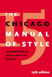 The Chicago Manual of Style Pdf Book