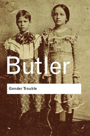 Gender Trouble: Feminism and the Subversion of Identity Book Pdf ePub