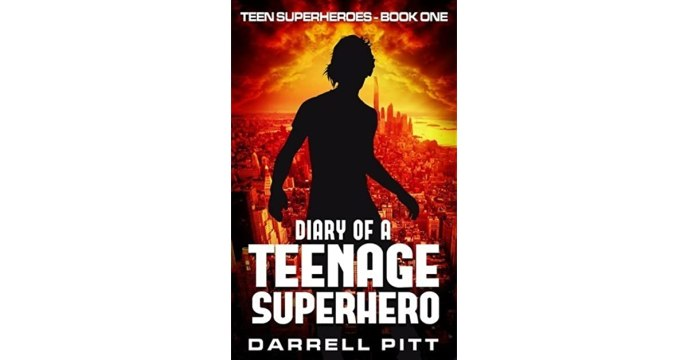 Image result for diary of a teenage superhero cover