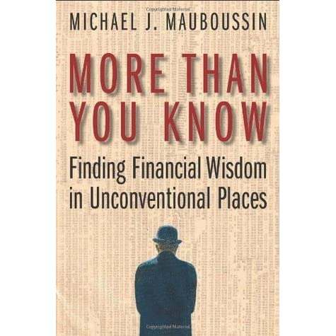 More Than You Know: Finding Financial Wisdom in ...