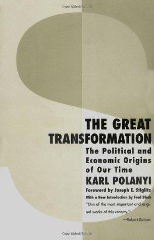 Rekmendasi buku antropologi - The Great Transformation