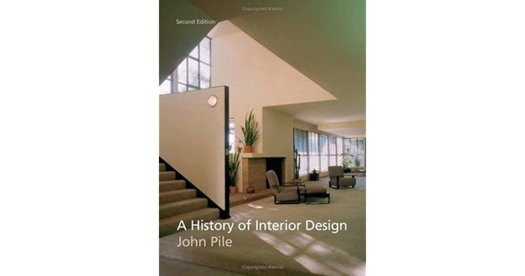 A History Of Interior Design By John Pile Second Edition