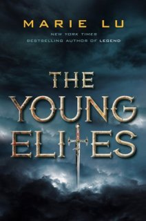 """Cover of """"The Young Elites"""" by Marie Lu."""
