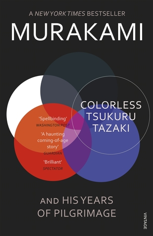 Colorless Tsukuru Tazaki and His Years of Pilgrimage Book Cover