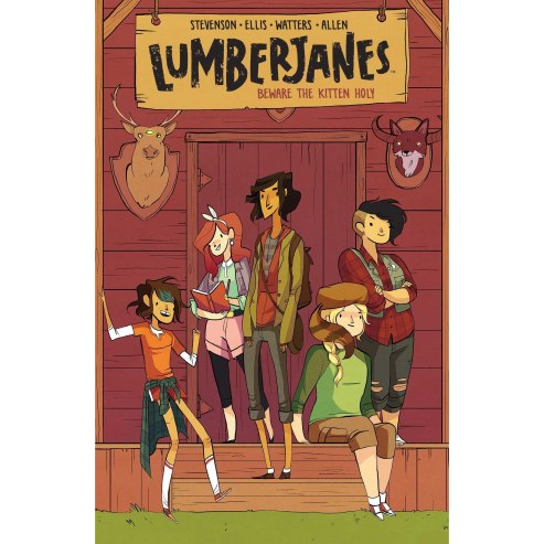Image result for lumberjanes vol 1