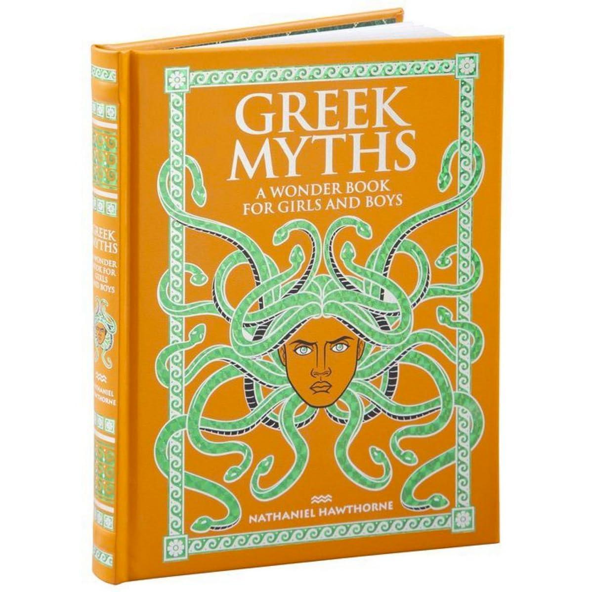 Greek Myths A Wonder Book For Girls Amp Boys By Nathaniel
