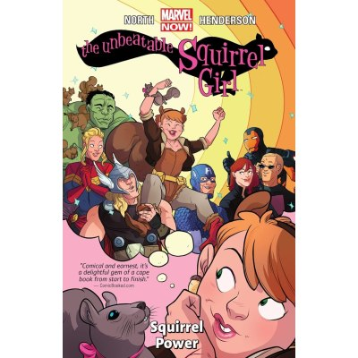 Image result for unbeatable squirrel girl volume 1 squirrel power
