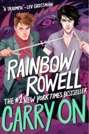 Carry On (Simon Snow, #1) by Rainbow Rowell