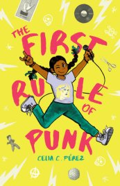 first rule of punk book cover