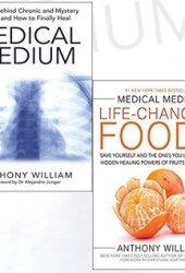 Medical Medium Anthony William Collection 2 Books Bundle With GiftJournal(Paperback-Medical Medium,Medical Medium Life-Changing Foods)