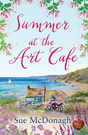 Summer At the Art Cafe by Sue Mcdonagh