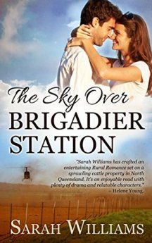 "Cover of ""The Sky Over Brigadier Station"" by Sarah Williams."