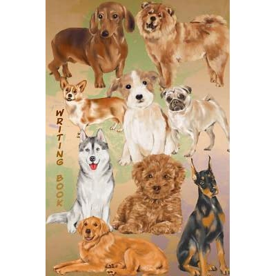 Writing Book 18 Top Dog Breeds Journal Compact Book By B L Redmond