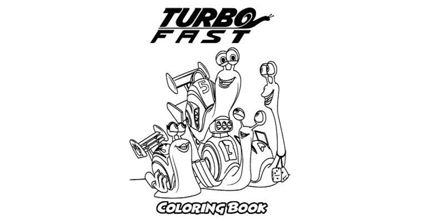 turbo fast coloring book coloring book for kids and