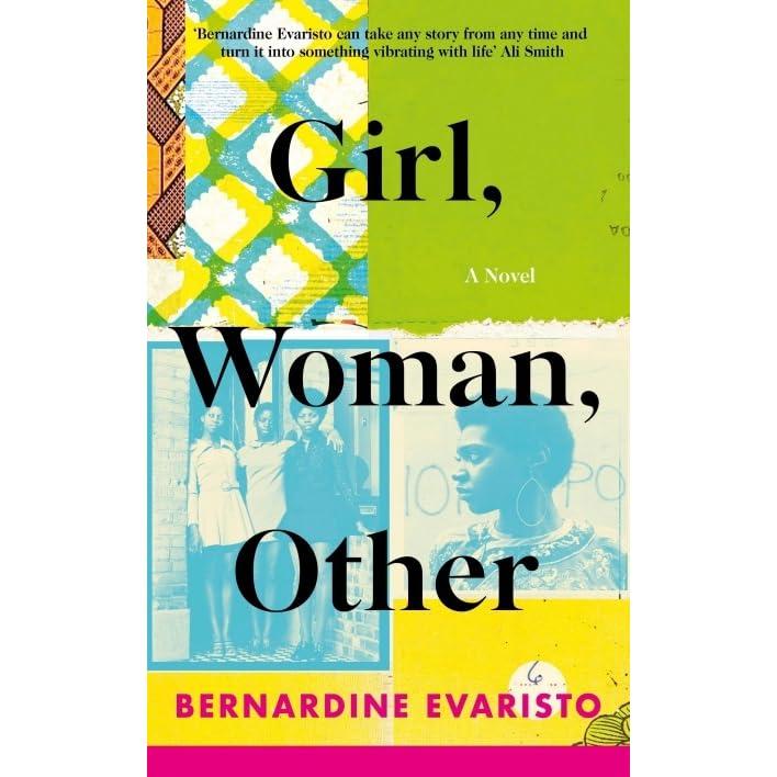 In five categories, black, muslim, female, poor, hijab bed Girl Woman Other By Bernardine Evaristo