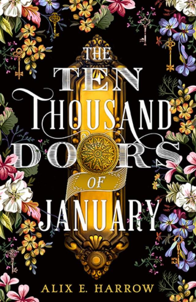 Beautiful cover art of Ten Thousand Doors of January by Alix E. Harrow
