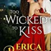 Rosie's #Bookreview Of #Gothic #Romance TOO WICKED TO KISS by @EricaRidley