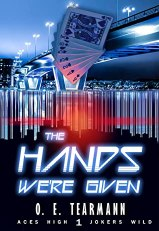 Cover, The Hands We're Given by O. E. Tearman