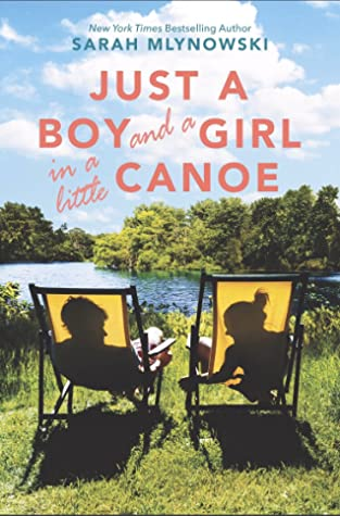 Just a Boy and a Girl in a Little Canoe Cover