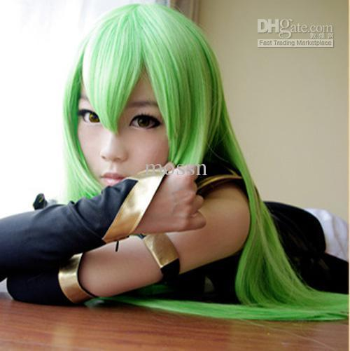 Over Pale Skin Green Hair 50 Color Eyes