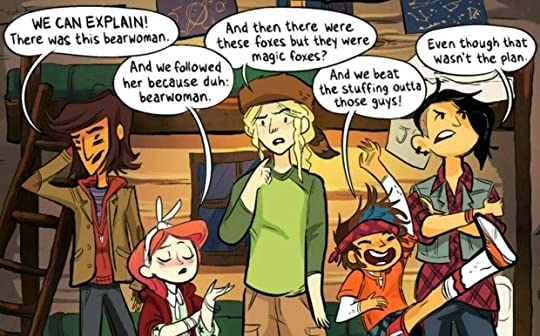 Image result for lumberjanes vol.1