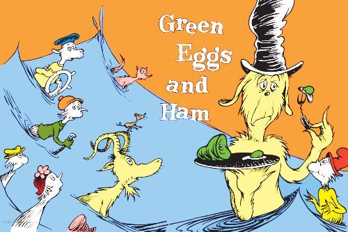 green eggs and ham topic and meaning # 8