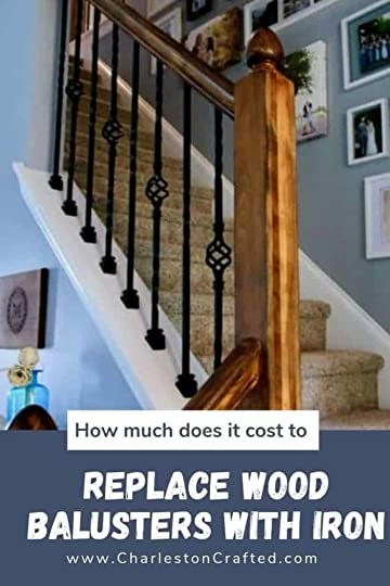 Blast Away The Game Review How Much Does It Cost To Install   Installing Wrought Iron Balusters   Staircase   Stair Treads   Stair Parts   Iron Stair Spindles   Wood