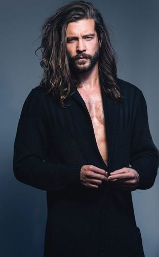 TAYLOR DAVID. People. Bearded. Beards. Men. Hot Guys. Dapper. Real. Rugged. Indie. Alt. Style. Handsome. Photo. Long Hair.: