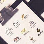 Free Logo Design Templates 100 Choices For Your Company Graphicmama Blog
