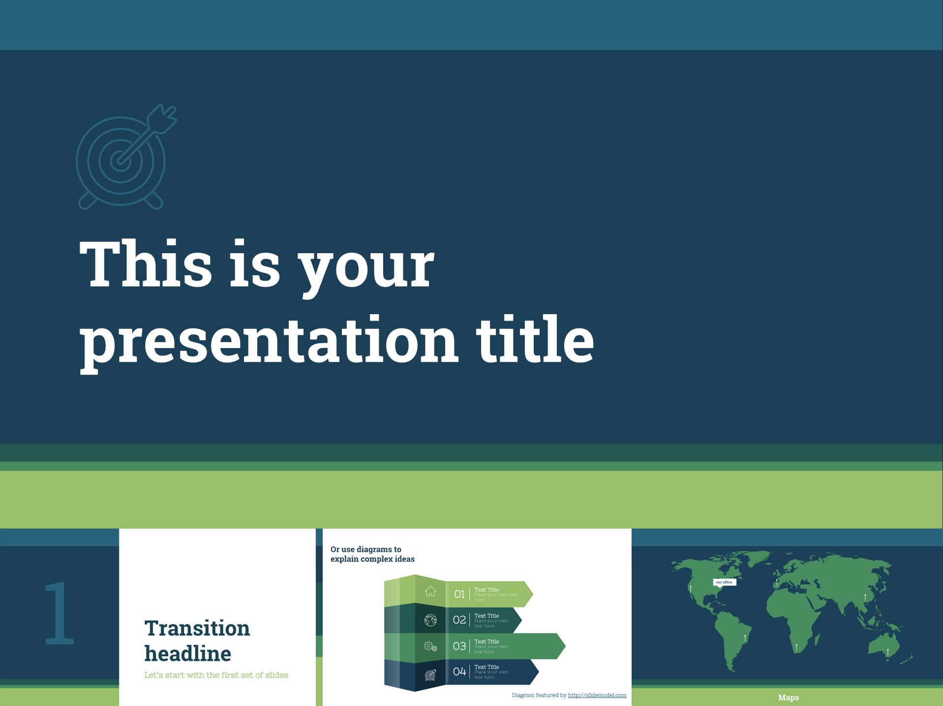 Free Business Google Slides Templates Presentation - The Internet Tips