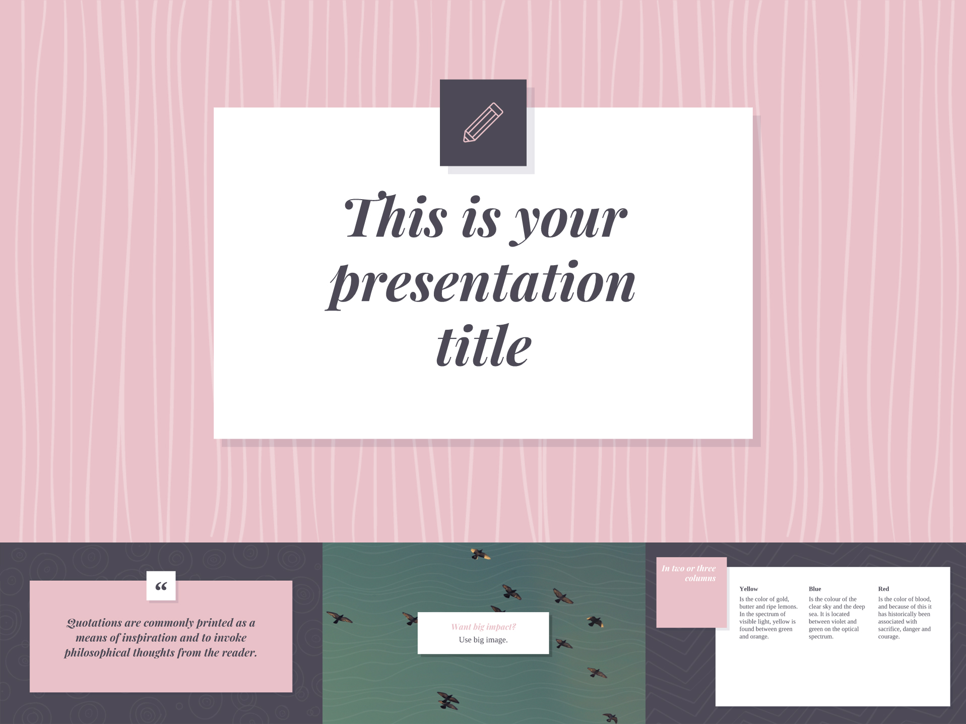 Soft Pink Google Slides Templates Available for Free - The Internet Tips