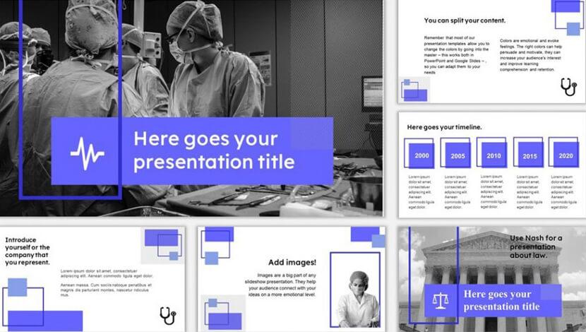 Free multipurpose template for Google Slides - The Internet Tips