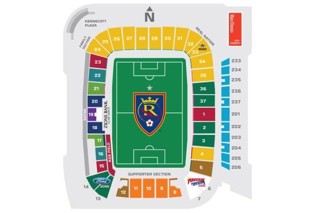 Rio Tinto Stadium Seat View Brokeasshome Com
