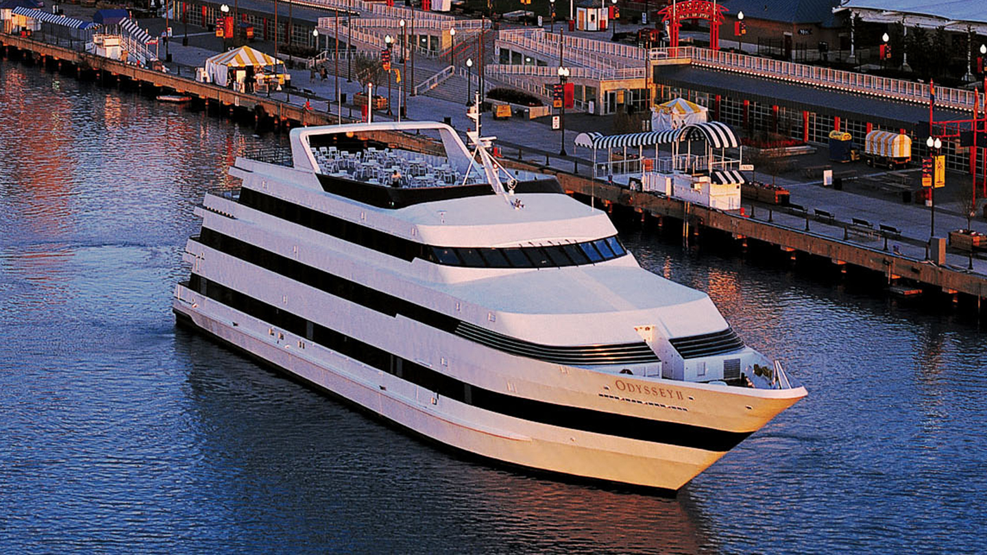 Discount tickets toddling around chicagoland award winning dining cruises aboard the odyssey fandeluxe Gallery