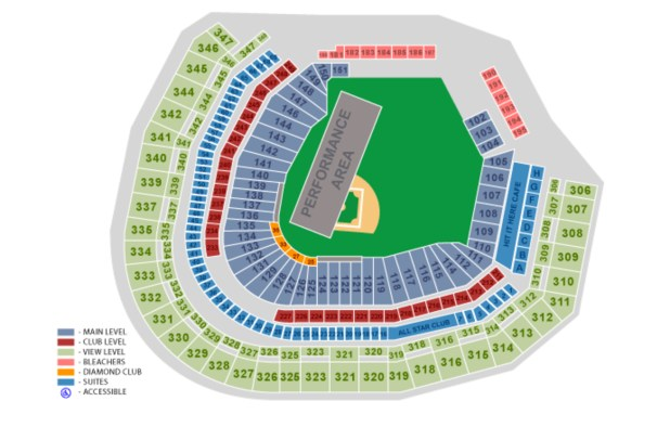 safeco field seat chart
