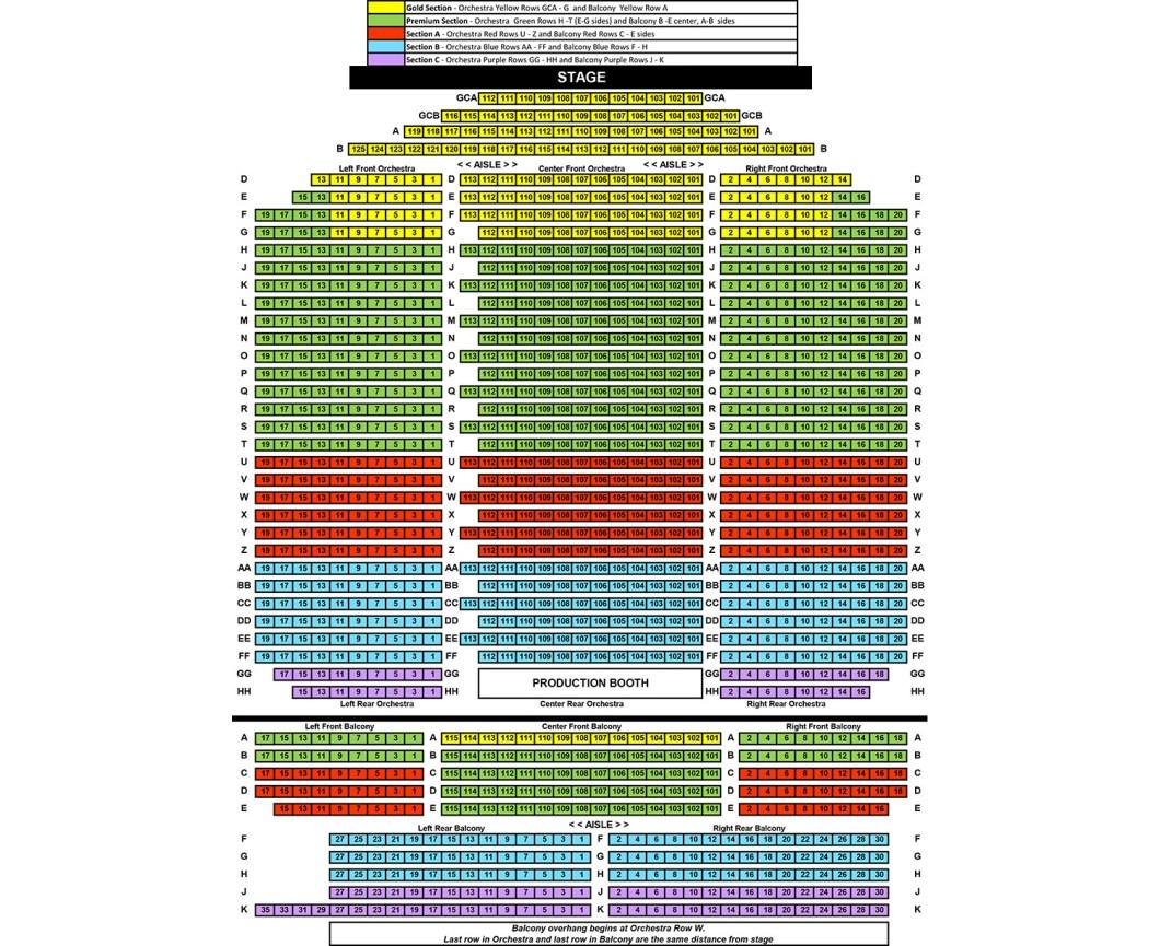 Mayo Performing Arts Center Morristown Nj Seating Chart Wallseatco