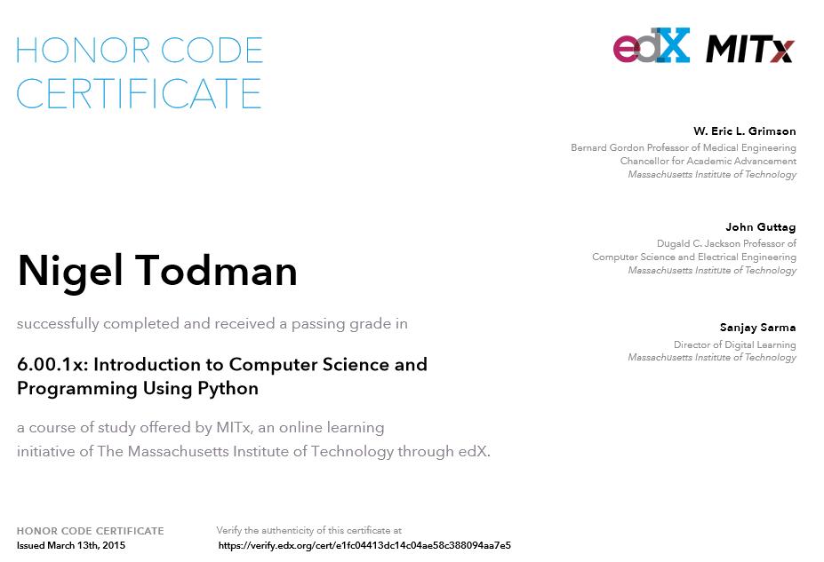 Edx Python