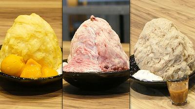 台湾のかき氷店「アイスモンスター」が新メニュー「桜ミルクかき氷」と一緒に大阪にも上陸したので見に行ってきました