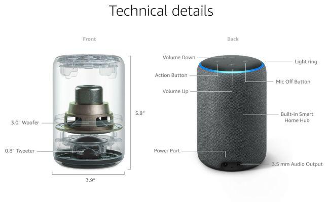 Image result for amazon echo plus 2 sound