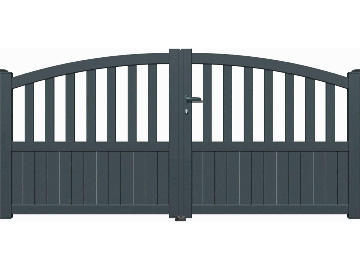 portail aluminium battant gijon 3