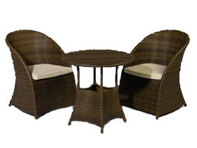 salon de jardin duo 1 table ronde 2