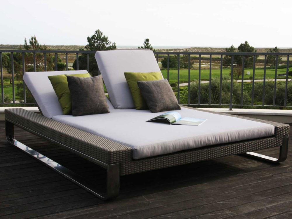 bain de soleil attitude double sun bed