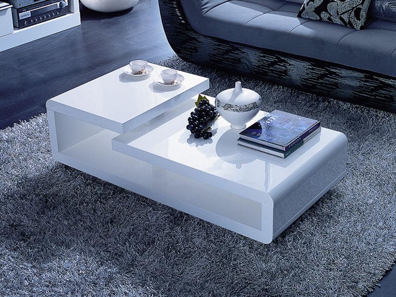 table basse design elysa en mdf laque